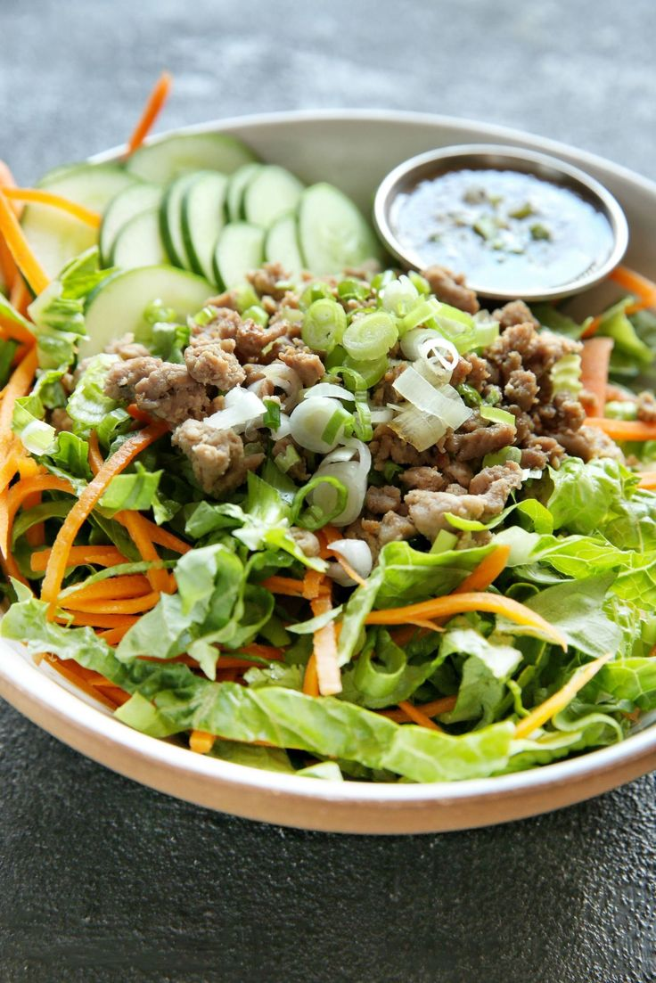 Chopped Thai Chicken Salad  - Delish.com
