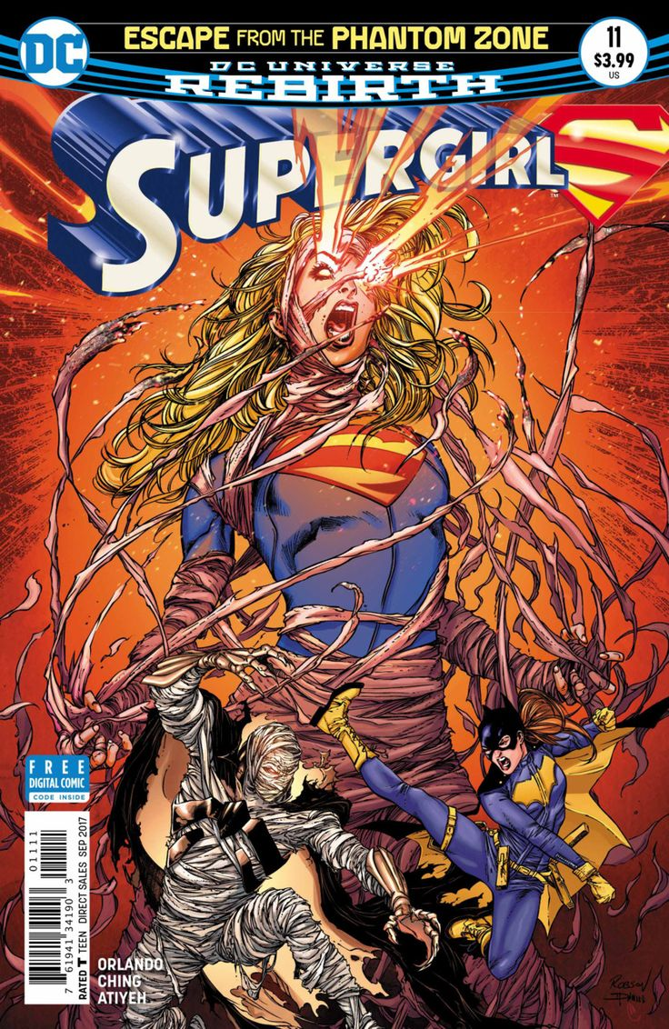 Supergirl #11 - Escape From the Phantom Zone Finale (Issue)