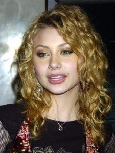 Blonde Curly Hairstyles Women