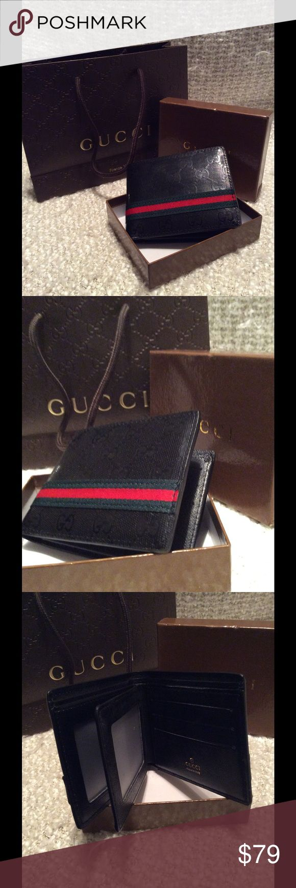 GG mens wallet new with shopping bags GG mens wallet new with shipping bags Gucci Bags Wallets