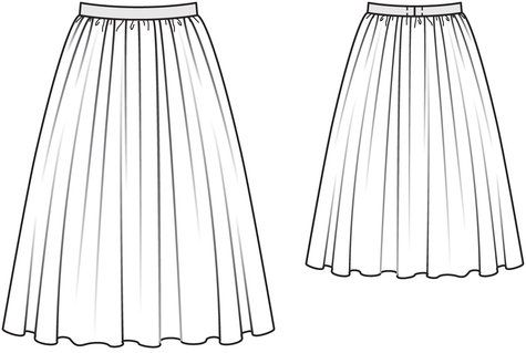 Gathered Full Skirt http://www.burdastyle.com/pattern_store/patterns/gathered-full-skirt-022011