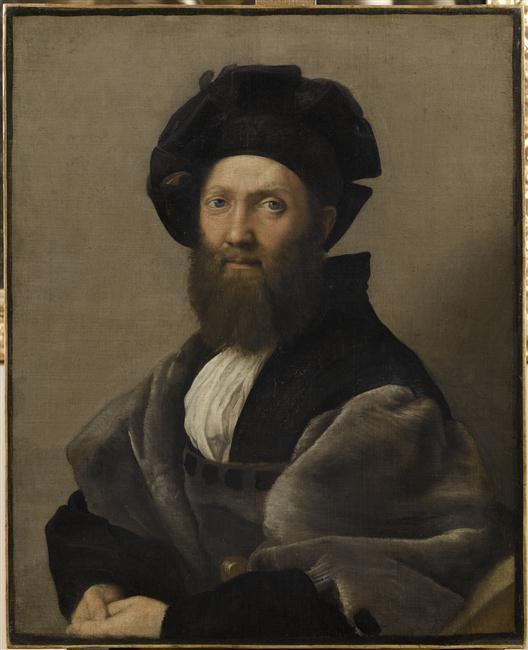 Raphaël   Portrait de Baldassare Castiglione   Images d'Art