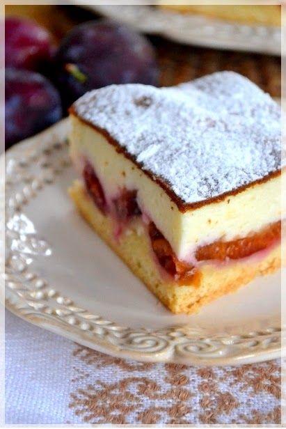 Blog to moja wirtualna księga przepisów na dania i ciasta których nie chcę zapomnieć. Sernik ze śliwkami