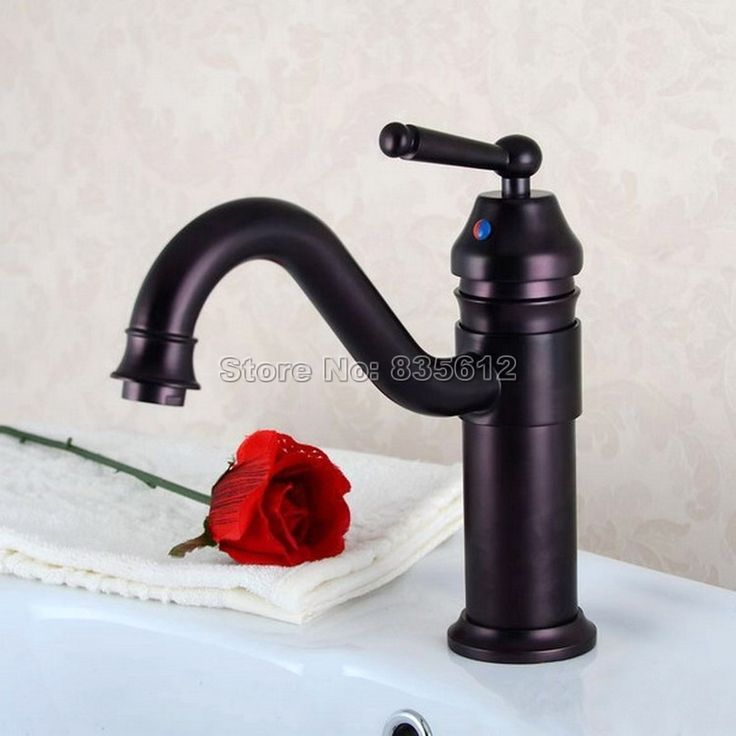 62.99$  Watch here - http://alixb6.shopchina.info/1/go.php?t=32689334955 - Oil Rubbed Bronze Single Handle Bathroom Basin Mixer Tap Vessel Sink Waterfall Faucet Swivel Spout Wpt008 62.99$ #shopstyle