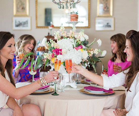 How to throw a Chic Champagne Brunch