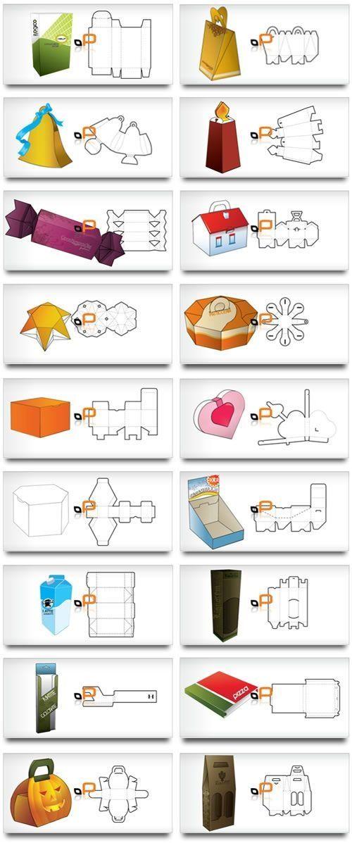 Distintos tipos de cajas  Y como hacerlas