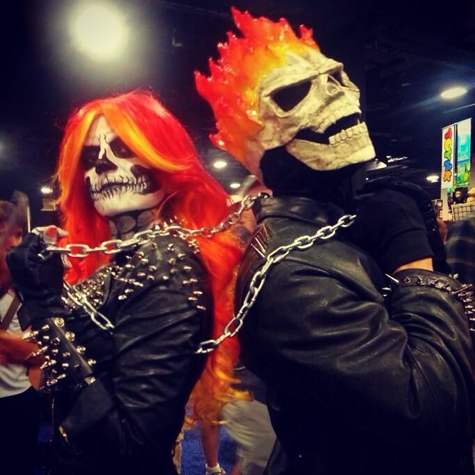 Female Ghost Rider is better than you  Cosplay- Lisa Phalstaf           Christian Joseph Lopes