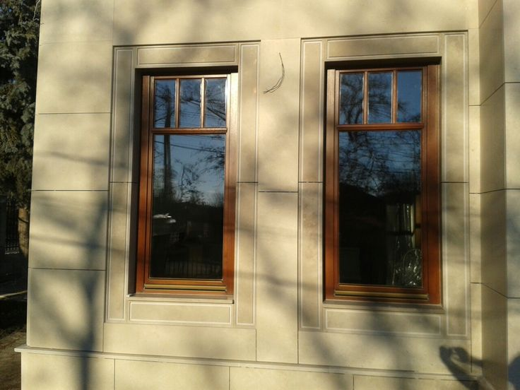 Wood windows_Wood balkony_Wood sliding doors_Exterior design_Dream home_Home building