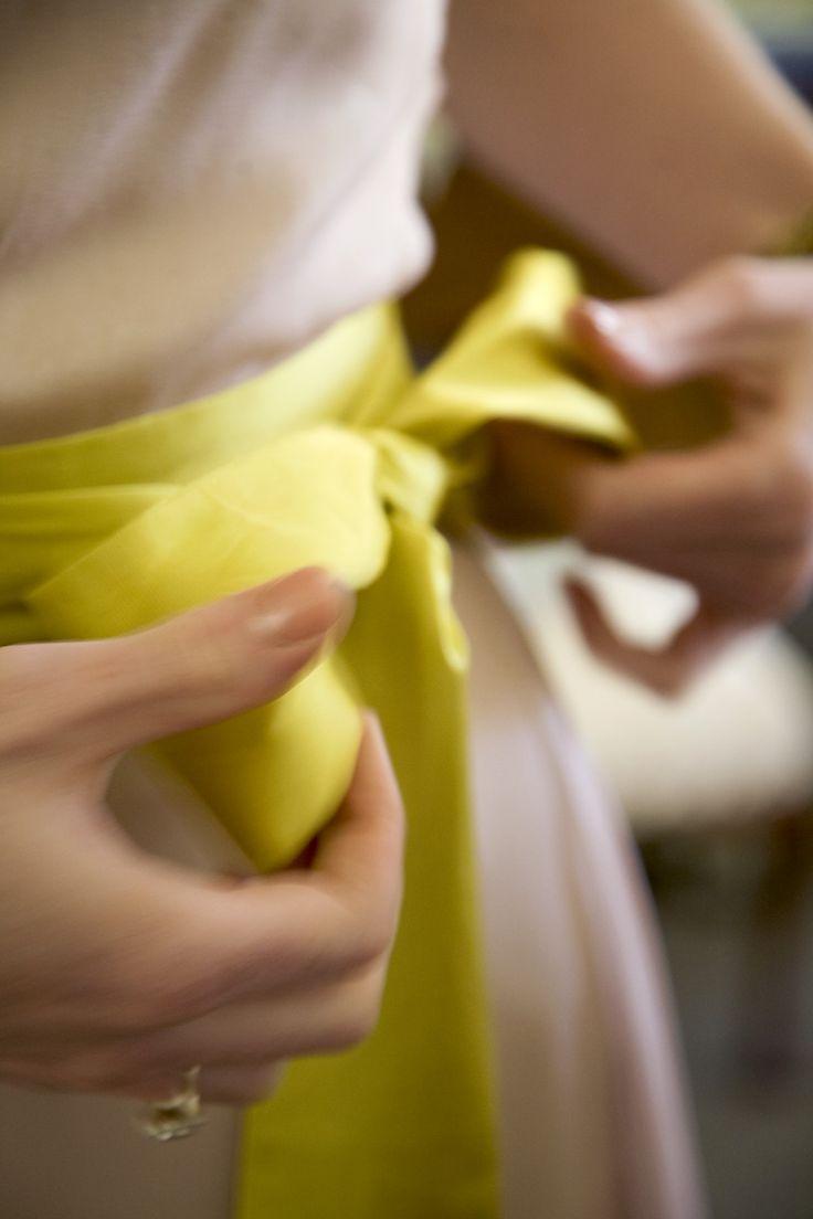 #wedding #bride #sash #dress #lissomyarn  Photography by Hanna Hosking, Hang Studio