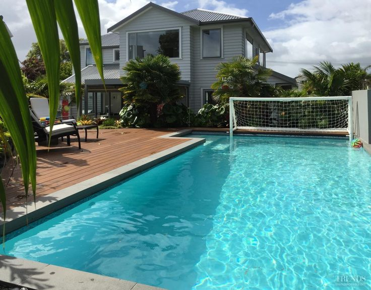 Swimming Pool by Mayfair Pools NZ colour fiji sands with sparkle