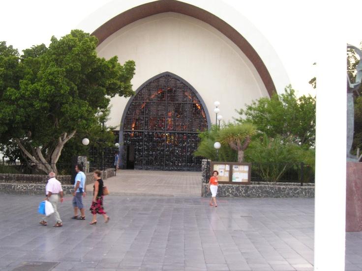 kerk op Playa del Ingles