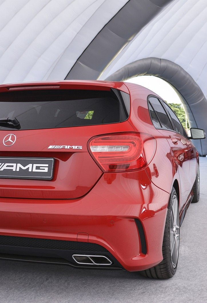Mercedes A45 AMG.  Family Truckster