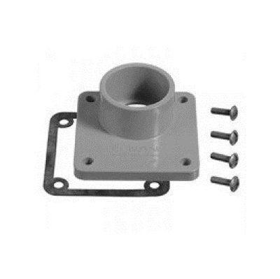 CARLON MHUBA-200 2-in Schedule 40 PVC Unthreaded Meter Socket Hub
