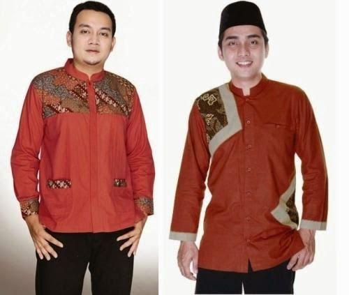 Model Baju Batik Muslim Pria untuk Kerja Kantor