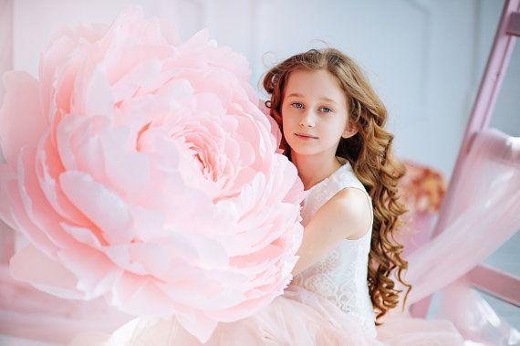 Peonia di carta giganti - compleanno Photobooth con fiore di carta - fiore di carta - fiore di carta festa oversize di grandi dimensioni