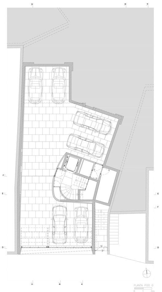 Edificio Cantareira,Planta Nivel Suelo