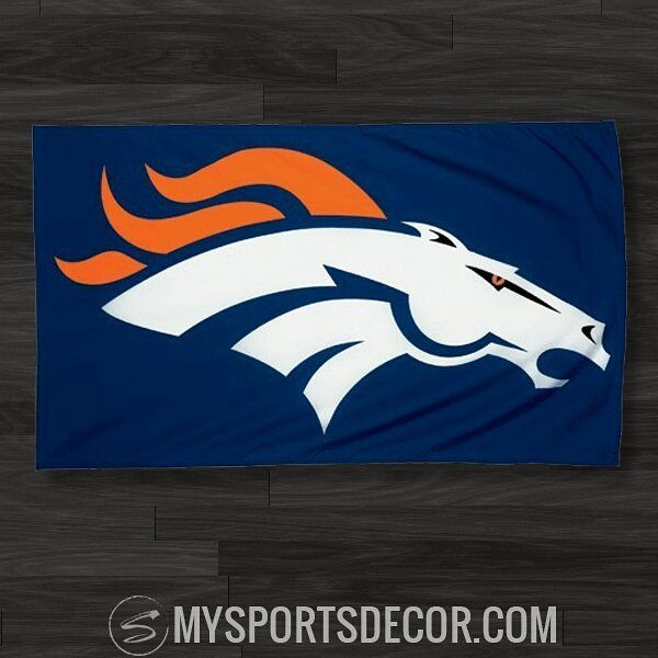 Show off your team spirit with a team flag  Fly this #DenverBroncos flag in front of your house or hang it as #walldecor inside  Or choose a flag for your favorite sports team! Follow us to learn about team products & upcoming specials! #sports #nfl #football #broncos #denver #broncosnation #broncoscountry #broncosgear #broncoswag Get this & other Broncos gear at: http://mysportsdecor.com/denver-broncos-merchandise.html