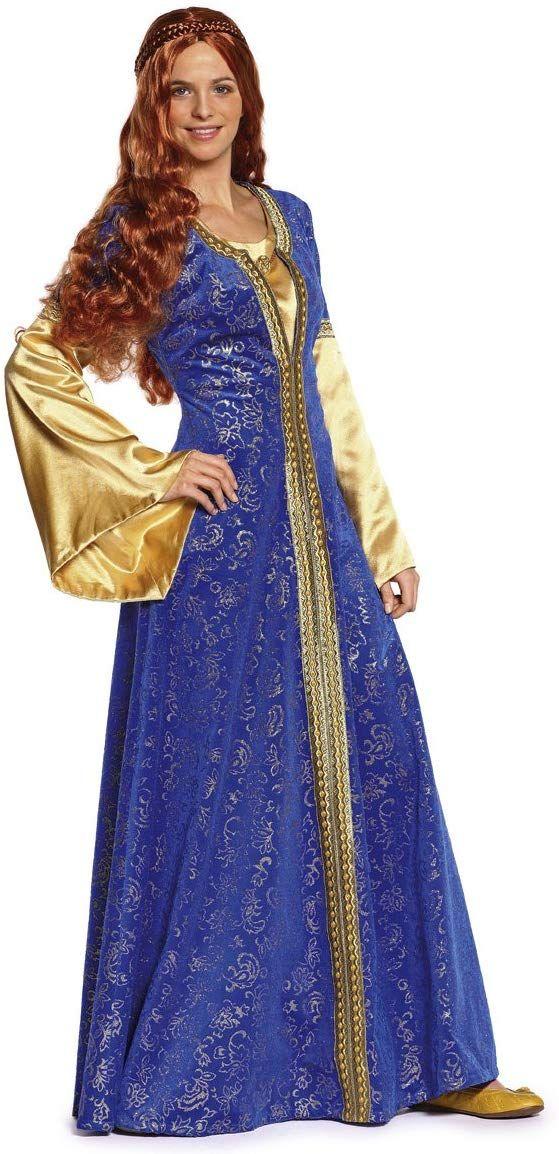 03fb2775f53c Burda B7468 - Cartamodello per realizzare abito e cuffia da donna stile  medievale