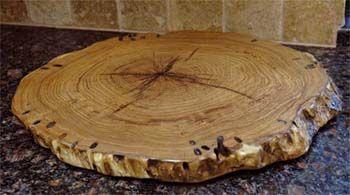 Mesquite Wood Lazy Susan Beautiful Things Pinterest