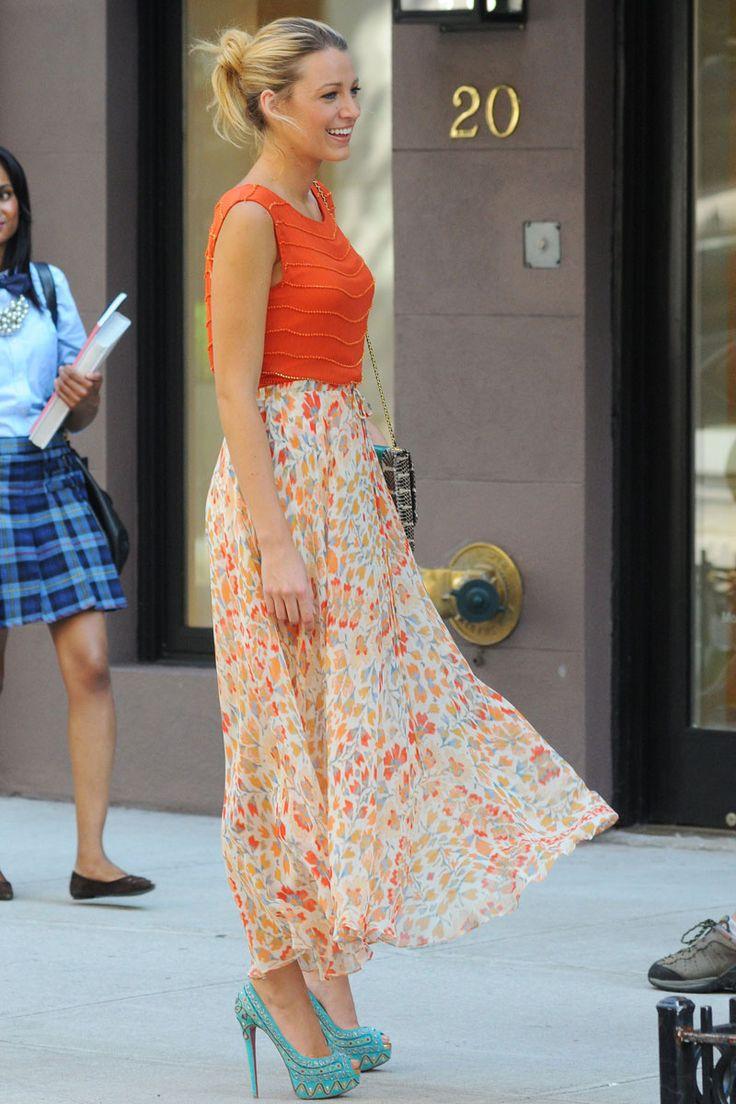 "Blake Lively as ""Serena Van Der Woodsen"", Gossip Girl"