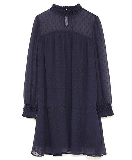 Romantic Dresses: Zara, $50, zara.com
