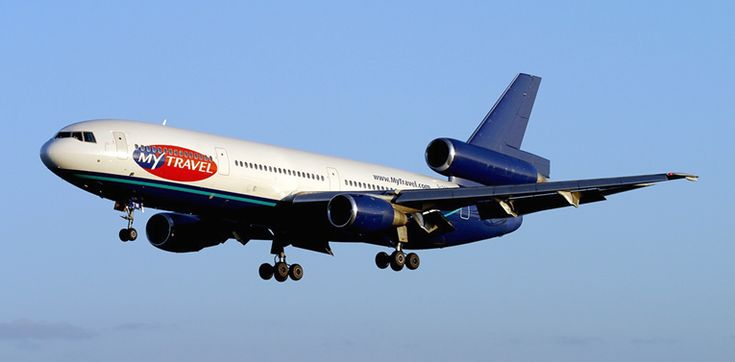 My Travel Airlines DC-10     My first aircraft in 2003