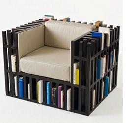 Ruim snel en makkelijk je boeken op in een bibliotheek stoel - Nieuws - ShowHome.nl