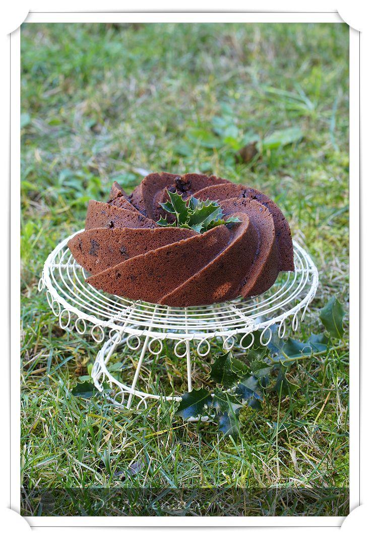 Mi dulce tentación: Bundt Cake de chocolate, Canela y Vino
