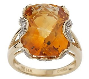 I've been thinking about adding an orange ring to my collection -- this could be it!