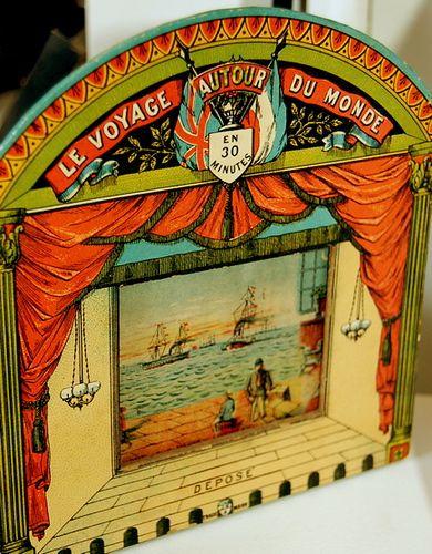 victorian era toy theatre