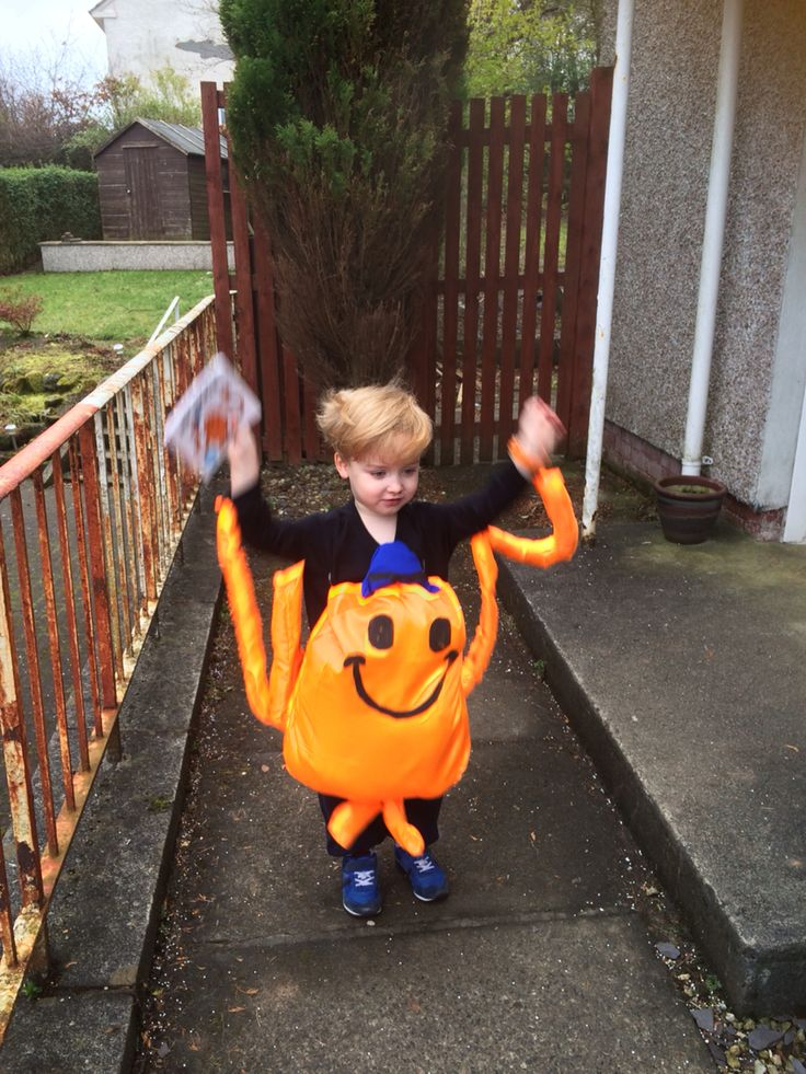 how to make a mr tickle costume