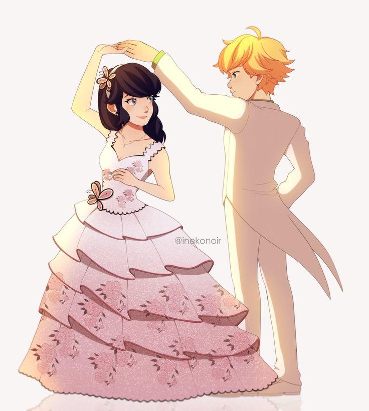 картинки эдриан и маринет на свадьбе расскажет