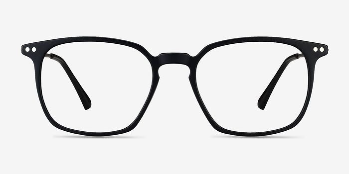 """Ghostwriter Matte Black <a class=""""primary"""" data-event-cate=""""Product Page"""" data-event-name=""""Product Features"""" data-event-label=""""Materials"""" href=""""/eyeglasses/metal"""">Metal</a> Eyeglasses from EyeBuyDirect. A fashionable frame with great quality and an affordable price. Come see to discover your style. https://www.eyebuydirect.com/eyeglasses/frames/ghostwriter-matte-black-l-19584?action=change_product"""