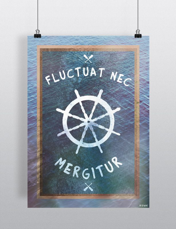Fluctuat nec mergitur she is tossed by the waves but she for Fluctuat nec mergitur tattoo