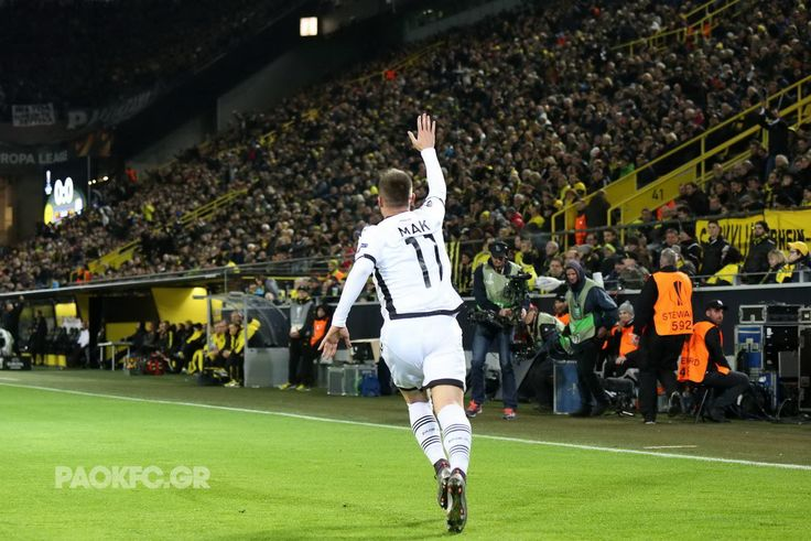 Ένα ιστορικό γκολ σε ένα θρυλικό γήπεδο #PAOK #Mak #scorer #UEL #BVB #SignalIdunaPark