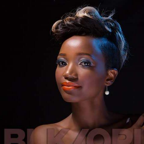 #BOFOZ2016 2nd Princess Robin Chivanga rocking Black Opal Color Splurge Luxe Creme Lipstick Tropica.  #BLKOPL