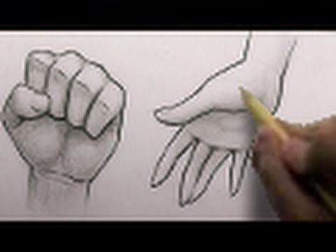 How to Draw Hands - Drawing tutorial. Read full article: http://webneel.com/video/how-draw-hands-drawing-tutorial | more http://webneel.com/video/drawings | more videos http://webneel.com/video/animation | Follow us www.pinterest.com/webneel