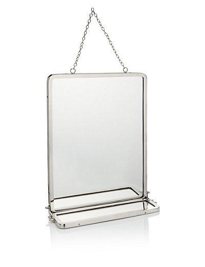 Vintage Style Hanging Mirror | M&S