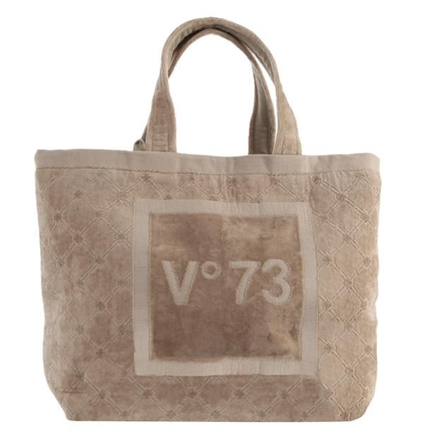 #V73 Hawaii Bag Beige Shop now on https://www.v73.us/mare/hawaii-bag Terry cloth bagH: 37 CM W: 55 CM D: 17 CM