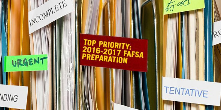 The 2016-17 FAFSA launches in a couple months! What you can do RIGHT NOW to get prepared: http://1.usa.gov/1LcbUhv