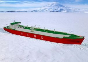 Nuclear powered LNG ships in the arctic?