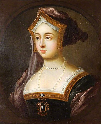 Jane Seymour (c. 1508 – 24 October 1537) was Queen of England from 1536 to 1537 as the third wife of King Henry VIII.  She died of postnatal complications less than two weeks after the birth of her only child, a son who reigned as Edward VI. She was the only one of Henry's wives to receive a queen's funeral, and his only consort to be buried beside him in St. George's Chapel, Windsor Castle, as she was the only consort to have a male heir to survive infancy.