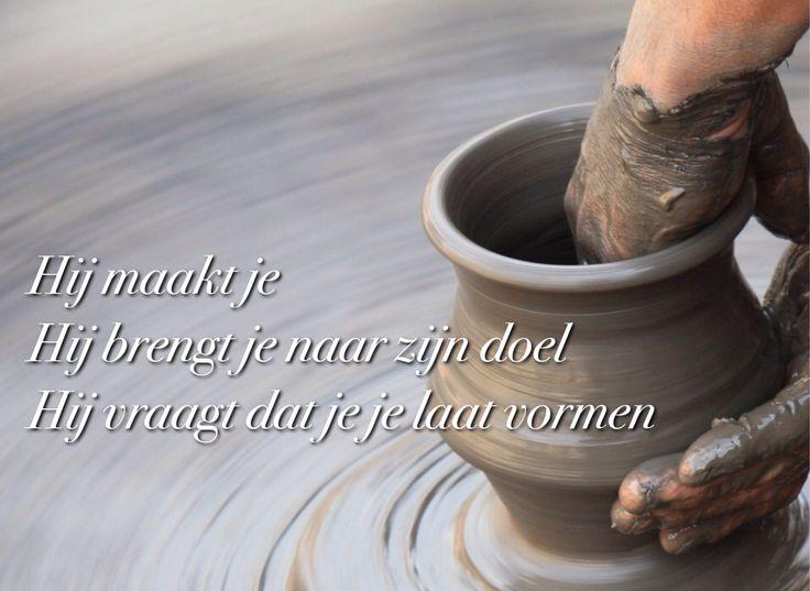 Leven als klei in de hand van de pottenbakker
