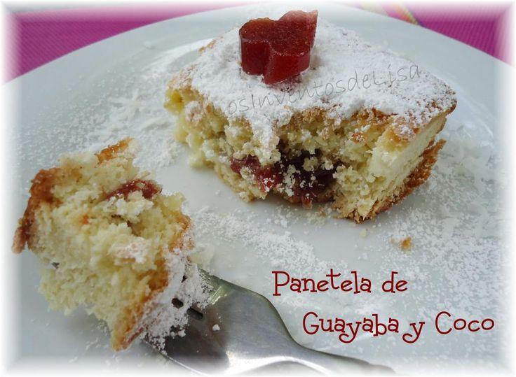 Panetela de guayaba y queso  Source:  Los Inventos de Lisa