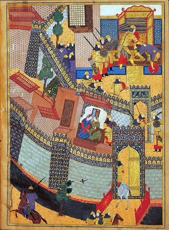 Tehran Museum of Contemporary Art  exhibition on Persian manuscript paintings 2006