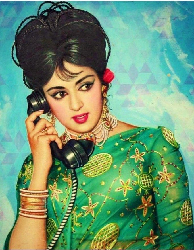 Hema Malini Vintage bollywood, Beautiful indian actress