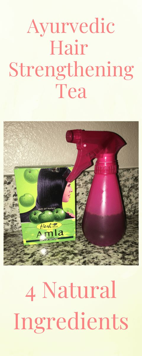 DIY ayurvedic Hair Strengthening Tea —