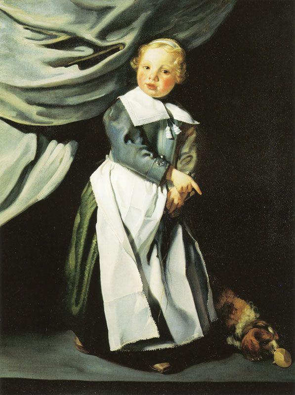 Jacob van Loo, c. 1650-55 - - - Boy with Top and Dog