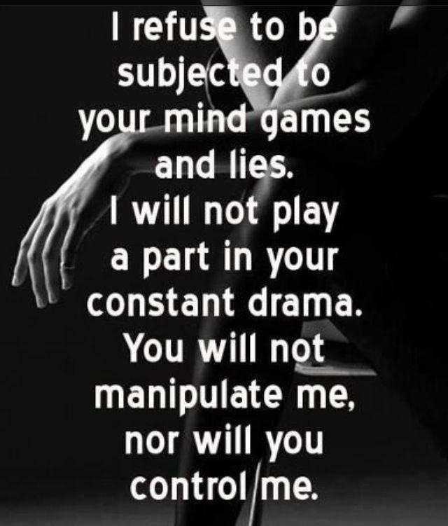 Narcissist Manipulative  Mind Games Tactics                                                                                                                                                     More
