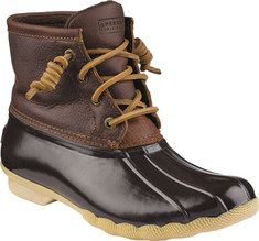Sperry Top-Sider Saltwater Duck Boot - Black/Quilted with FREE Shipping & Exchanges. Keep your feet safe from slush and snow with Saltwater boot. This duck